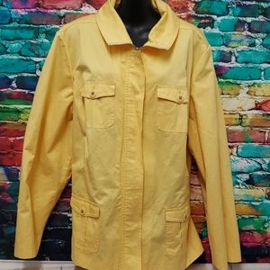 Studio works woman yellow 3X jacket